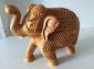 实木镂空大象