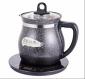 福益家陶瓷养生壶多功能煎熬药罐煲汤家用全自动电热烧水壶煮花茶